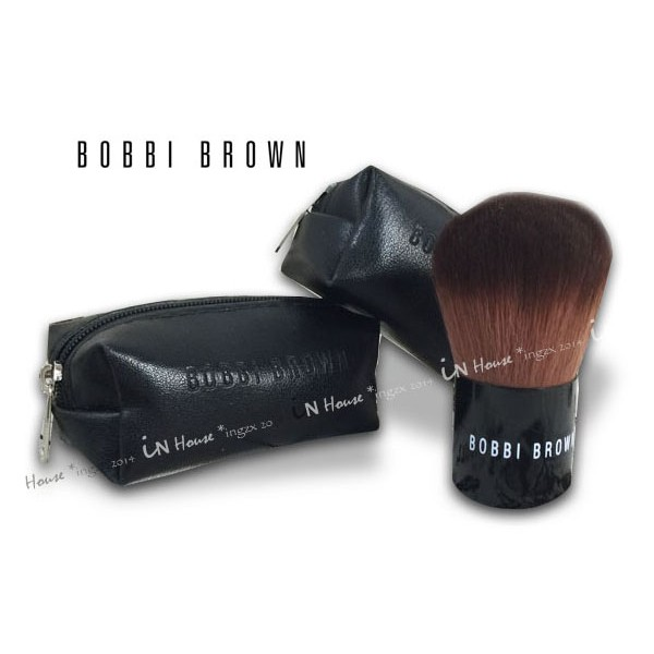 IN House Bobbi Brown 芭比波朗巴比布朗迷你羊毛腮紅刷蜜粉刷化妝刷附收納