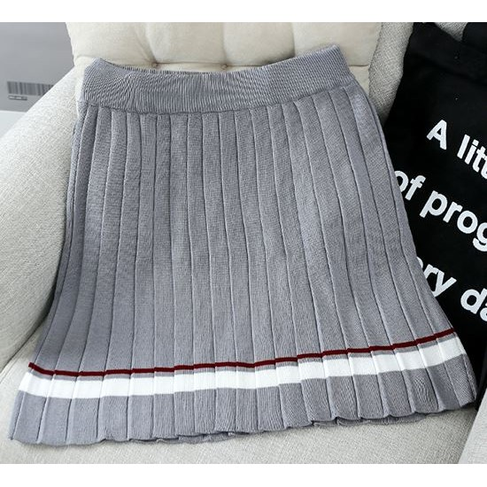 賣完換季1705 , , 針織百褶裙