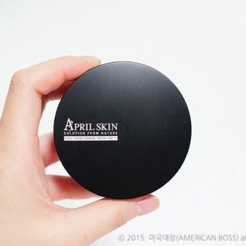 正品~韓國April Skin ~魔法氣墊粉餅黑盒15G SPF50 PA
