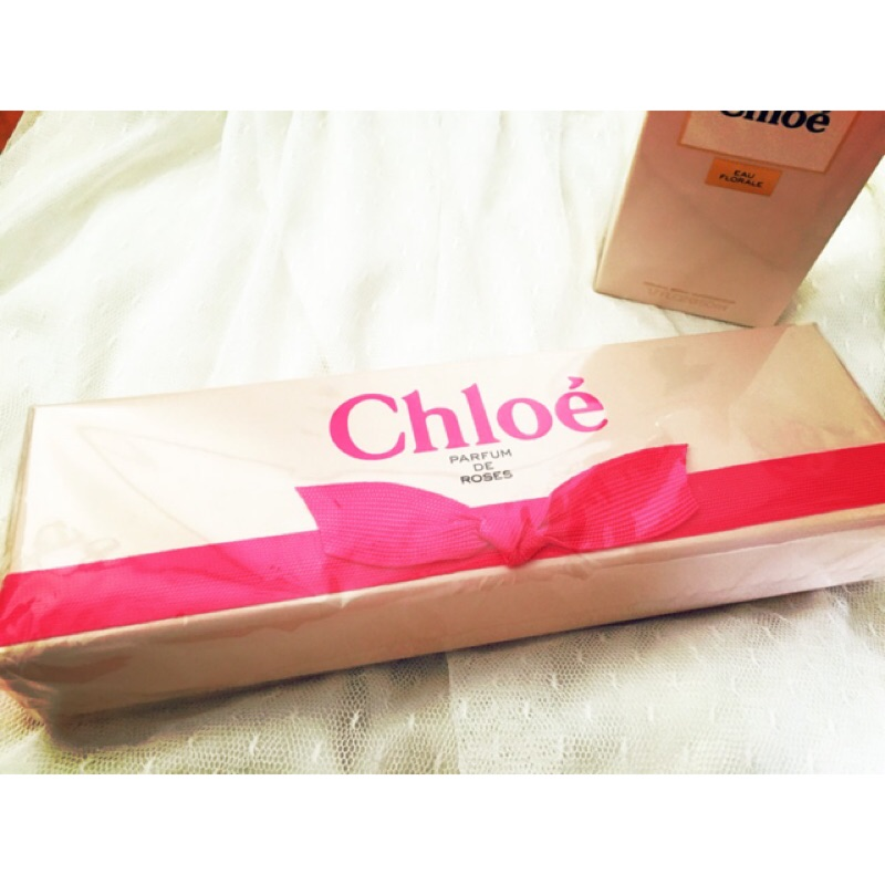 Chloe 明星玫瑰小香 5 入組 機場免稅購入, 品