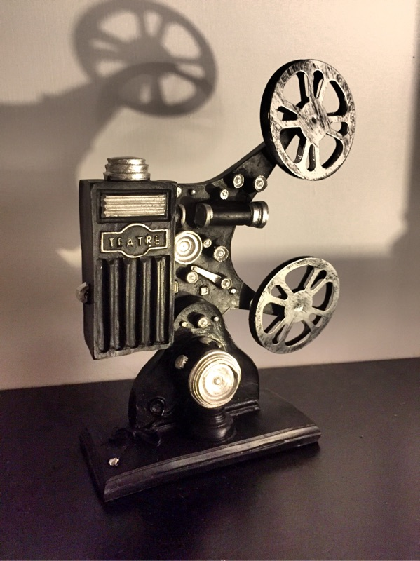 Vintage Style Resin Projector Home decor 復古樹脂