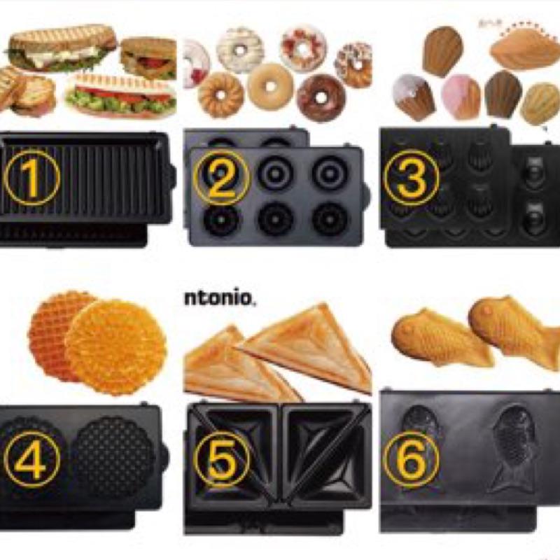 貓咪   貨Vitantonio 多款烤盤底盤鯛魚燒機鬆餅機三明治機vwh 110 w