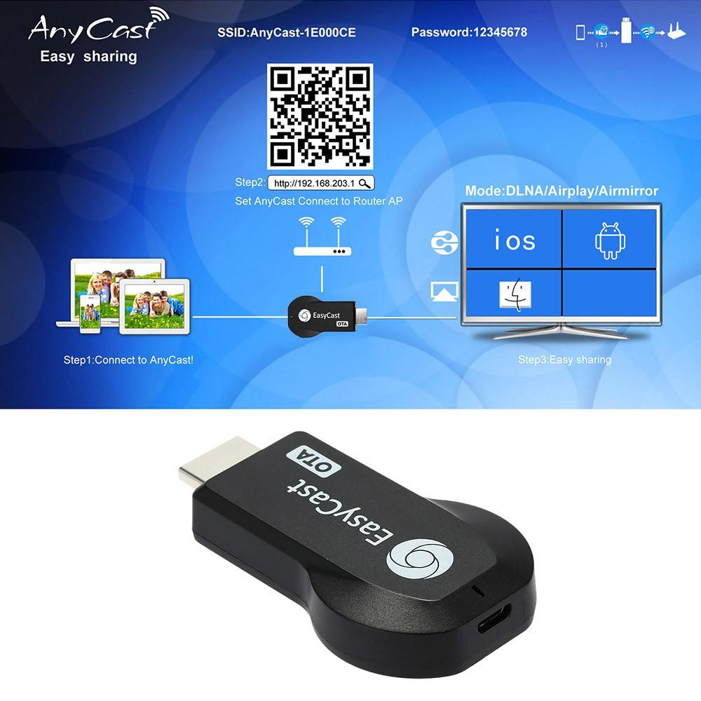 任播EasyCast 電視棒1080P 全高清WiFi 無線HDMI 推送寶同屏器手機電視