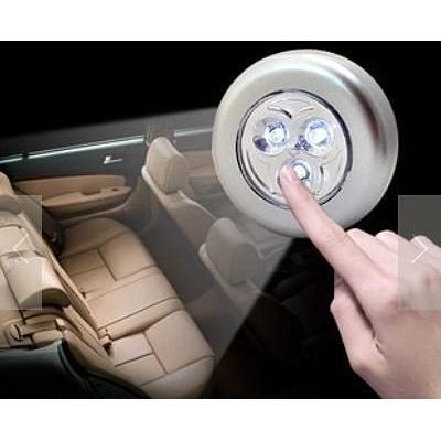 LED 拍拍燈、車用節能燈、緊急照明燈、閱讀燈、後車箱燈、露營燈,節能減碳節約電費 居家照