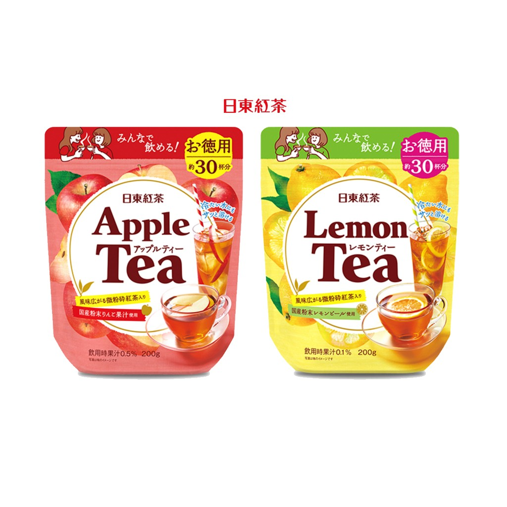 ~日東紅茶檸檬紅茶,蘋果紅茶220g ~|愛子森林