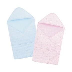 小獅王辛巴Simba 和風鋪棉包巾藍粉紅S2075