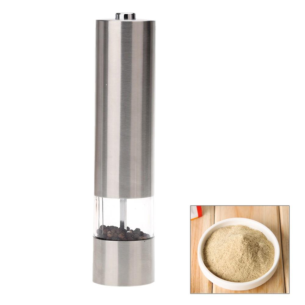 ~ ~電動胡椒粉香料研磨器不銹鋼可擕式磨床粉碎機調味料