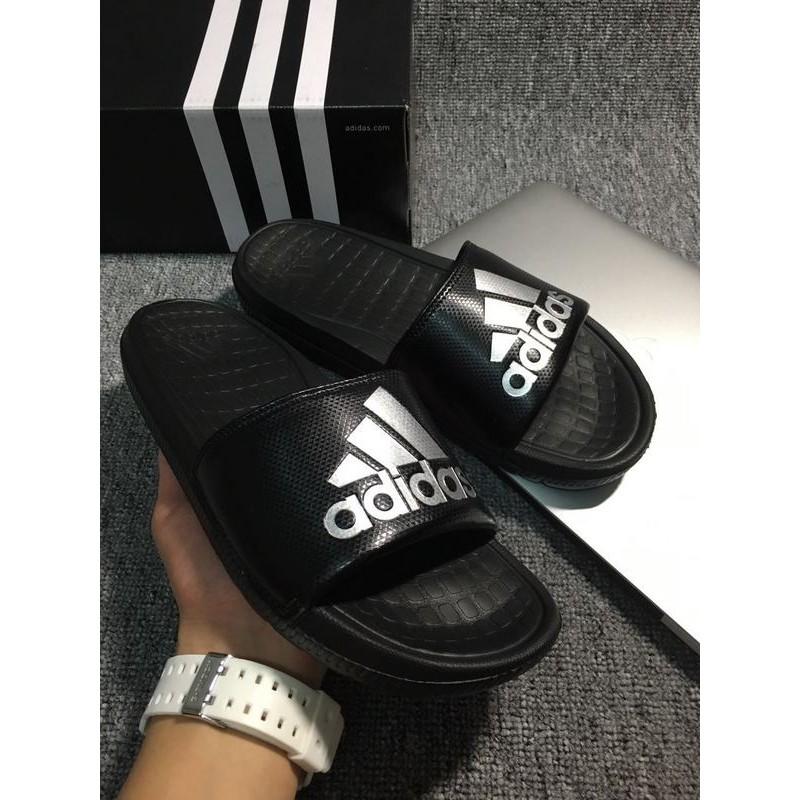 Adidas Voloomix Slide 白黑紅拖鞋基礎款愛迪達