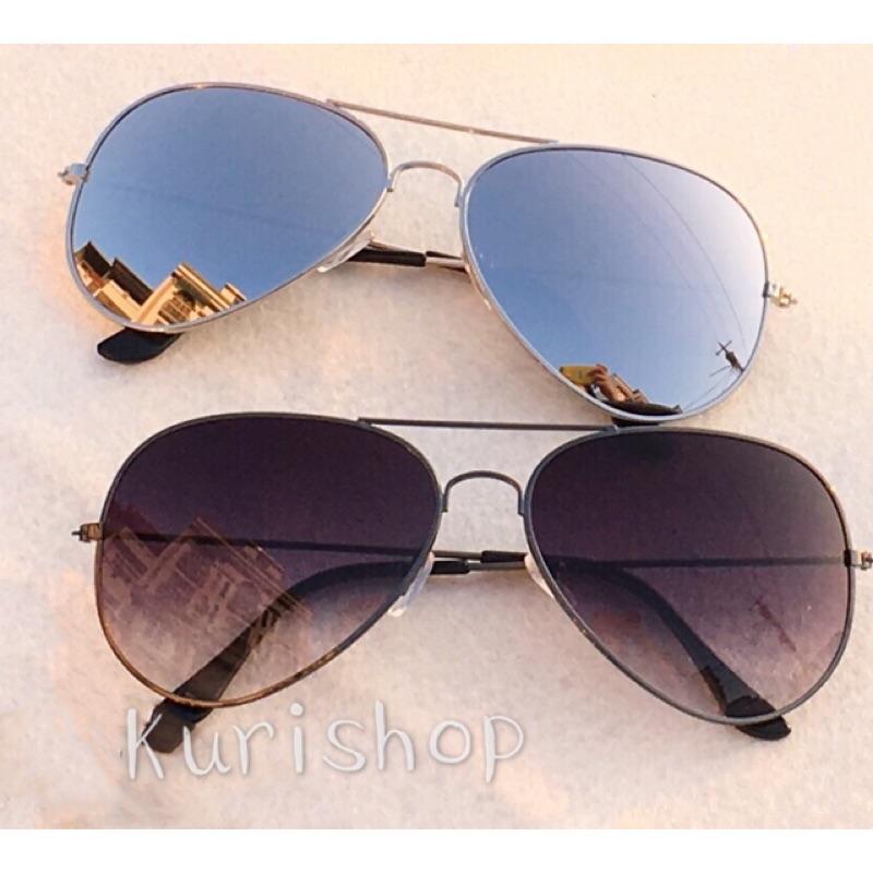 ✨ 實拍✨KURI SHOP 〃栗小舖飛行員眼鏡太陽眼鏡偏光眼鏡墨鏡雷朋眼鏡漸層水銀鏡彩色