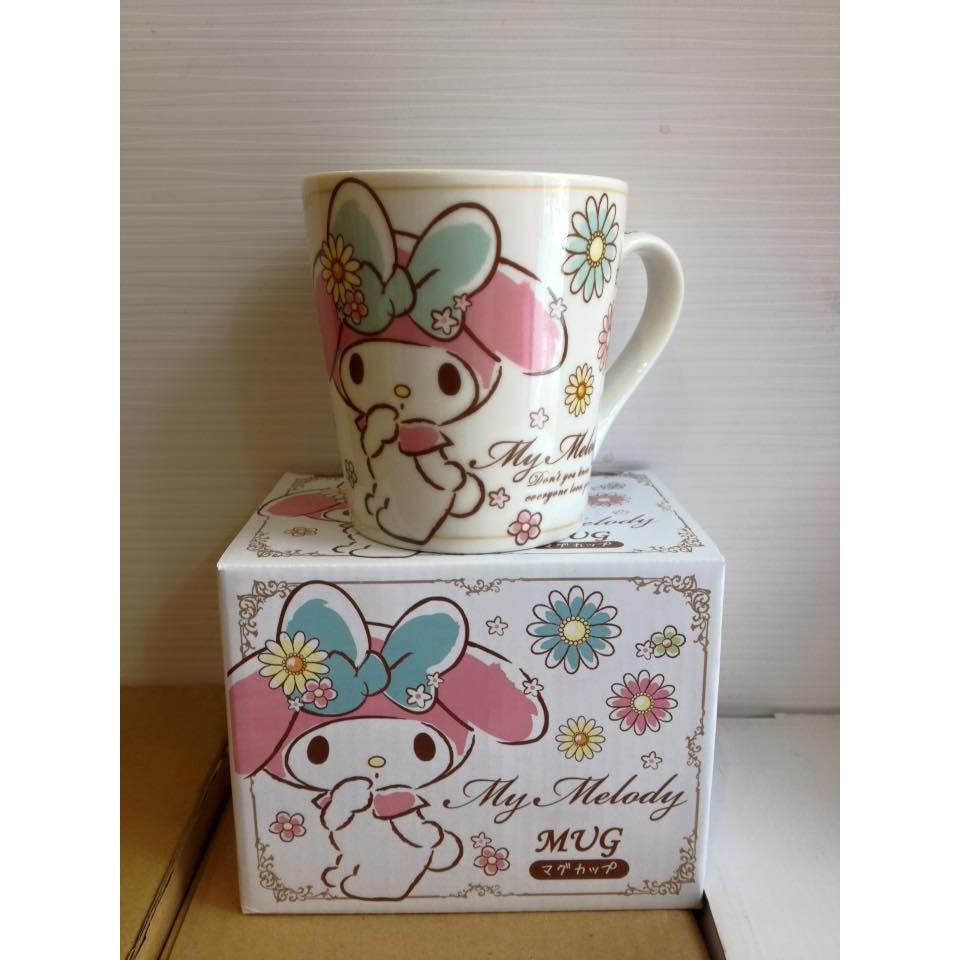 阿虎會社~B 040 ~ Melody 美樂蒂花花氣質 馬克杯250ml 茶杯咖啡杯牛奶杯