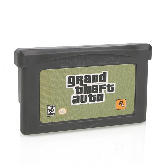 俠盜獵車手GTA GameBoy Advance GBA 角色扮演視頻遊戲控制卡