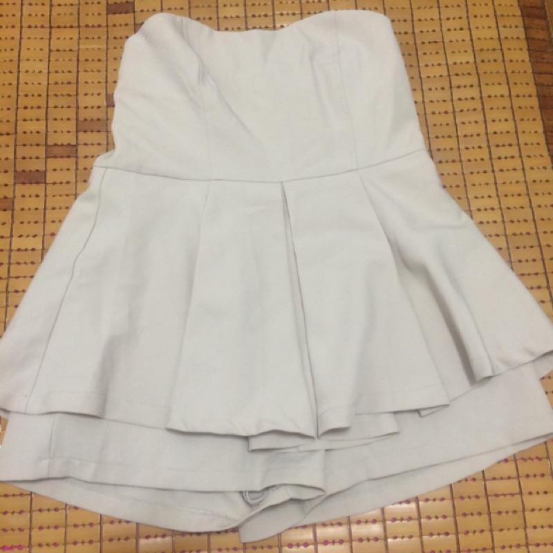 平口連身褲裙