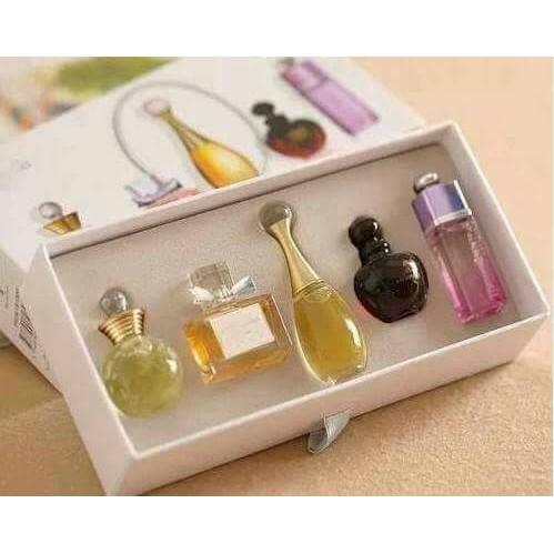 Dior 香水五件組 (附提袋)
