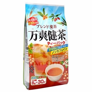 爆買  長谷川商店萬爽健茶綜合麥茶十種類混合茶240g 8gX30 袋茶包