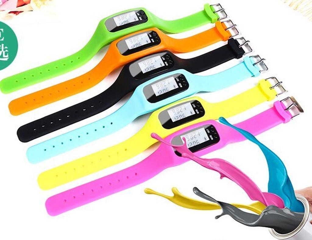 矽膠手環計步器手錶計步器多 計步器時間計步器