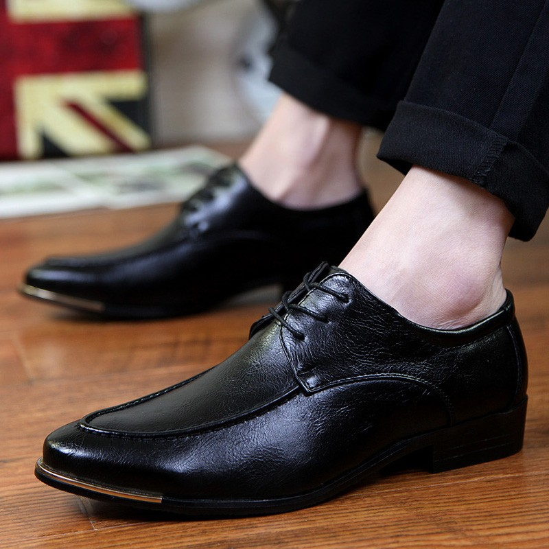 2016  男士尖頭小皮鞋英倫商務 皮鞋夜店發型師潮男鞋子帆布鞋休閒鞋平牛津鞋樂福鞋豆豆鞋