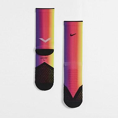 6 15 Nike Elite Cushion Crew BETRUE 男女段彩虹慢跑襪S