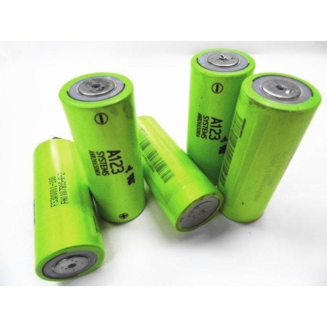美國 A123 26650 2300mah 磷酸鋰鐵電池拆機30C 強力放電汽機車啟動電池