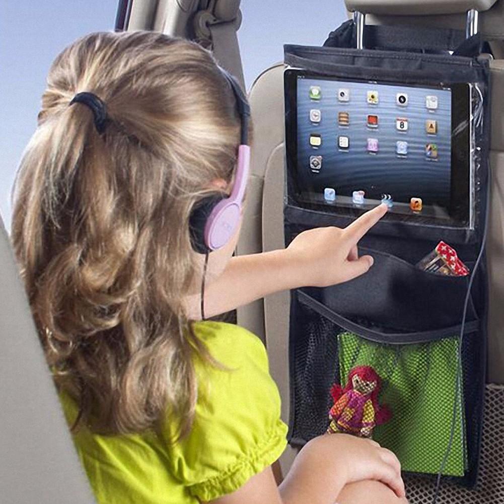 汽車座椅媽咪掛袋兒童ipad 掛包平板電腦帶小孩旅遊