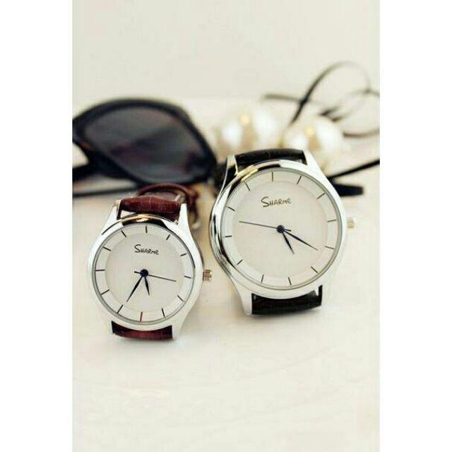 情侶 手錶防水高硬度強化鏡面簡約 手錶~SB000278 ~