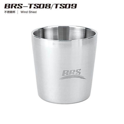 BRS 雙層隔熱不鏽鋼水杯純304 220ml
