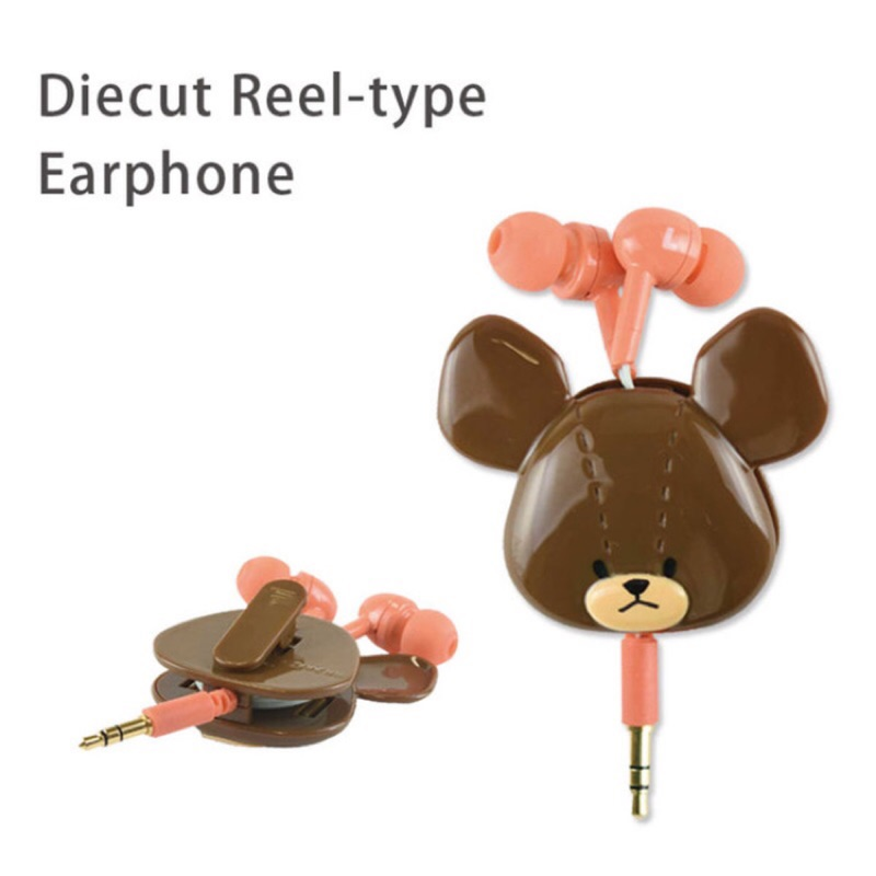 上學熊耳機大頭公仔 耳機收納  迪士尼