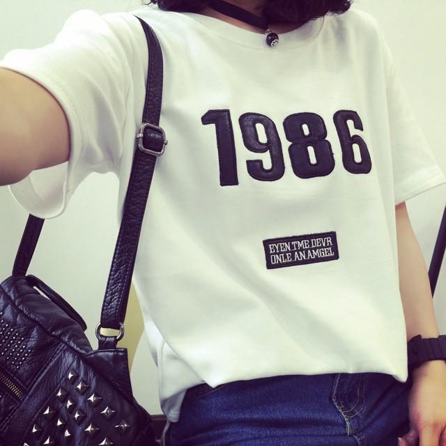 數字1986 短袖T 恤T 223 均碼