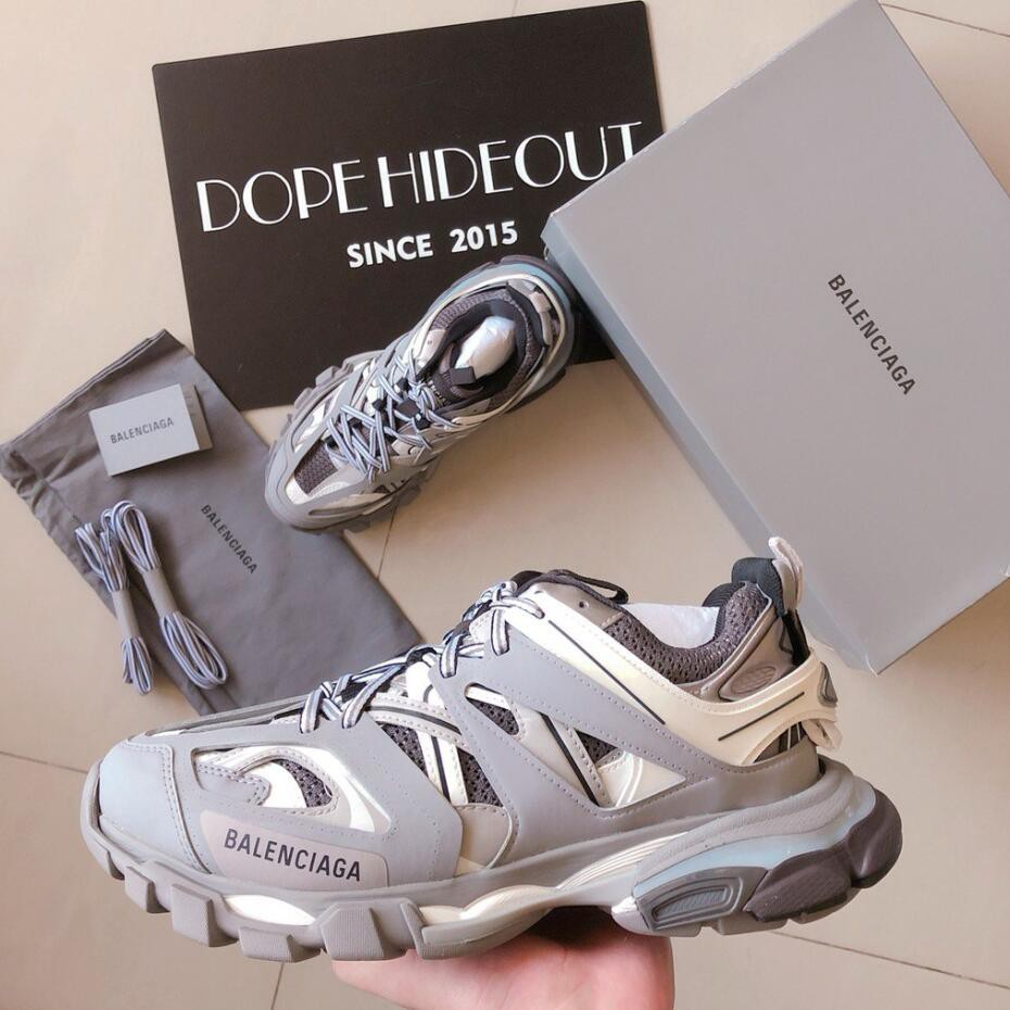 More Sneakers Balenciaga Track Trainer Green Blue on