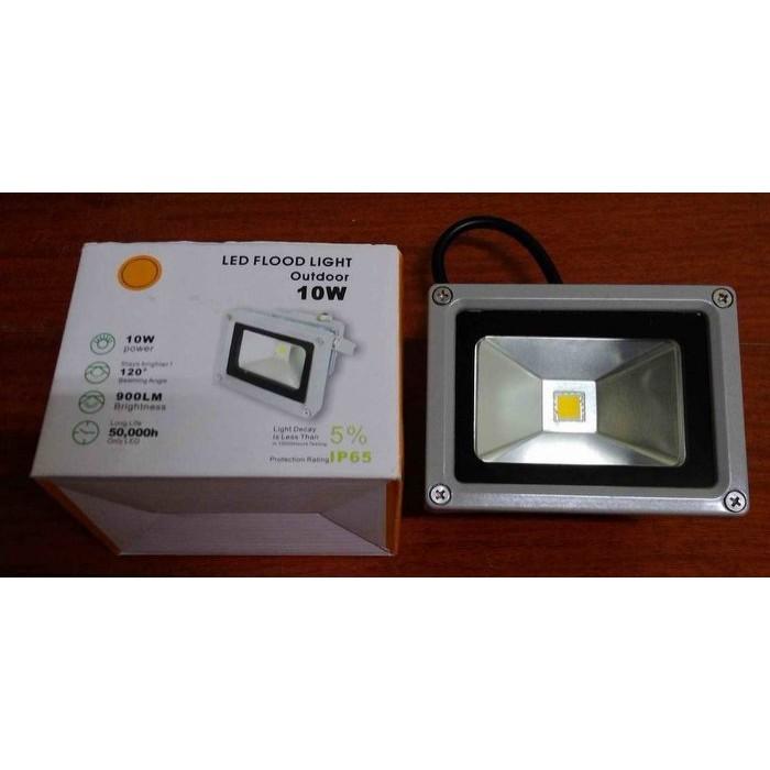商業用工業用防水型10W 10 瓦LED 投射燈暖白DC12 24V  探照燈感應燈