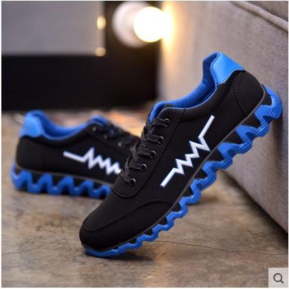 2016  透氣男鞋 潮鞋學生 鞋 鞋低幫阿甘跑步鞋子