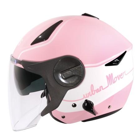 ㊕Perry Store ㊝ZEUS ZS 612A AD1 彩繪款淺粉紅白雙層鏡片內藏墨