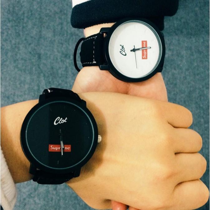 〖Beauty 韓國 服飾〗 復古真皮帶防水簡約學生手錶 潮流石英男表女表情侶一對表手錶對