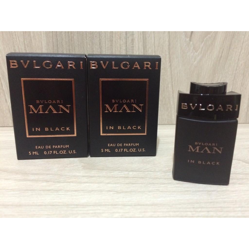 BVLGARI 寶格麗Man In Black 當代真我男性淡香精5ml 小香水