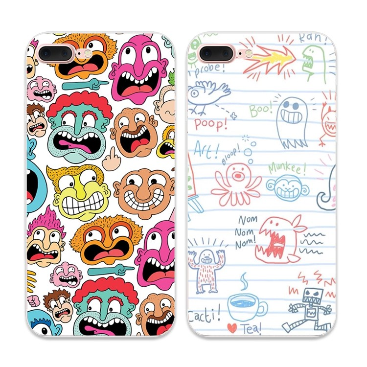 ~買二送一~小怪獸蘋果7 7s 手機殼iPhone6 6s 6plus 保護套5se 全包