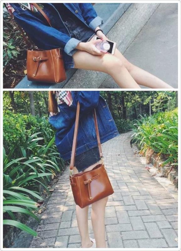 ✨ 高 ✨皮革肩背包側背包斜背包單肩包小方包手機包休閒包通勤包包包小包皮包水桶包