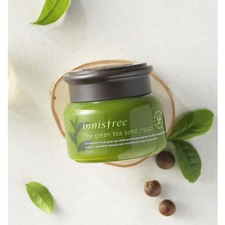 抗氧化 innisfree 綠茶籽潤澤保濕霜50ml