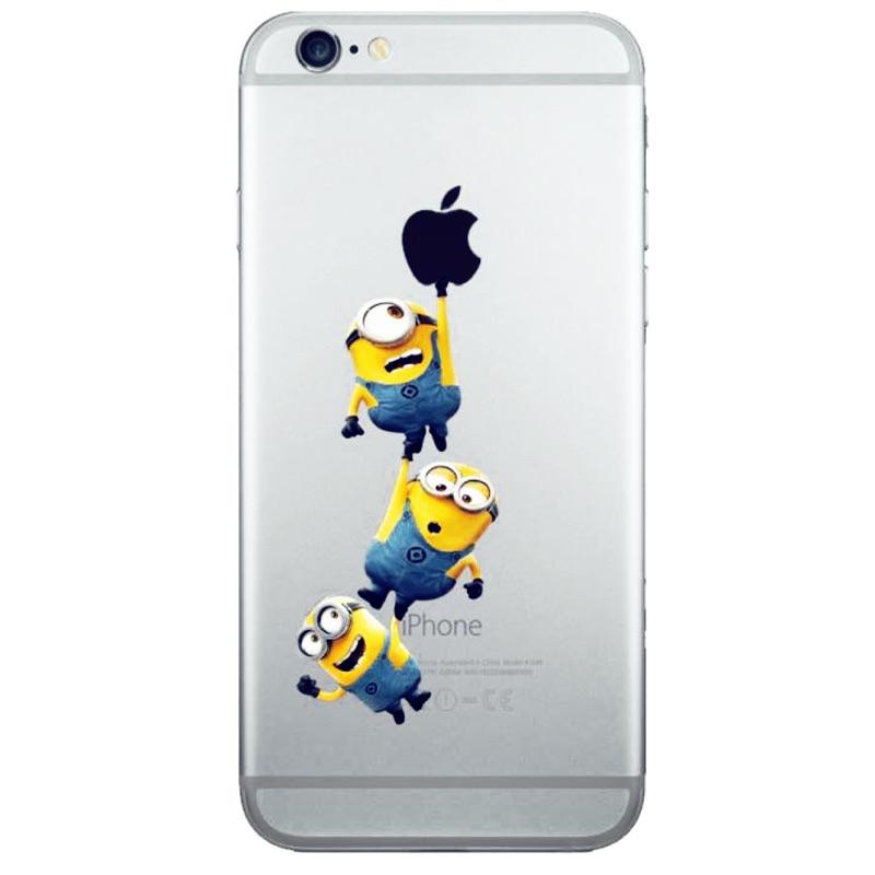 小小兵蘋果iPhone 5 5s 6 6s 4 7 5 5 plus 手機殼Pc 硬殼