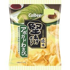 Calbee 期間限定芥末酪梨味洋芋片73g 家樂比卡樂卡佳樂比