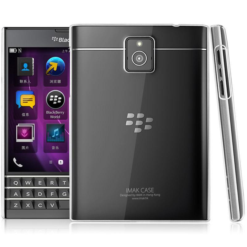 羽翼2 IMAK 黑莓機BlackBerry Passport 抗刮耐磨透明殼硬殼~EC