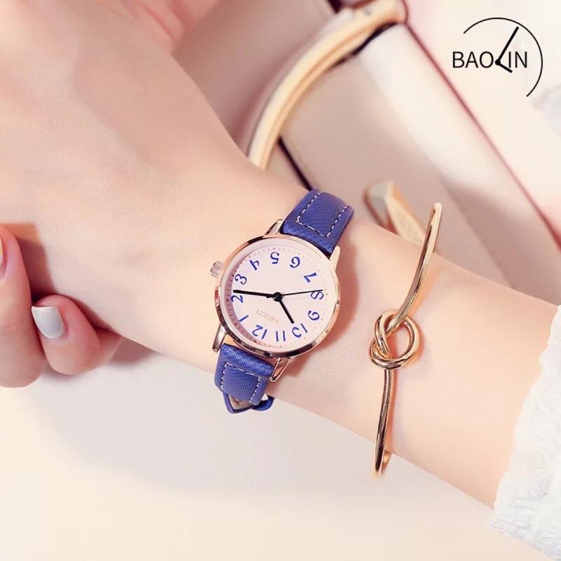 KEZZI 韓國少女必買款極簡風小清新小錶面超輕薄石英皮帶錶小錶女錶學生錶文青錶閨蜜錶