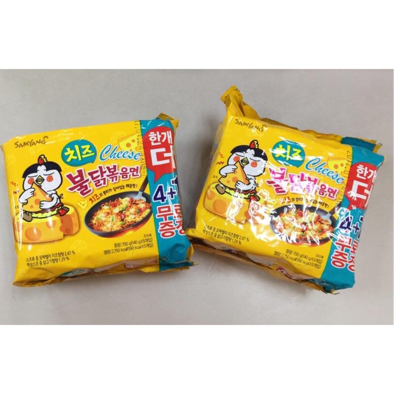 ~ ~韓國泡麵三養起司火辣雞肉炒麵辣雞麵新包裝境內銷 版(ㄧ袋五入)