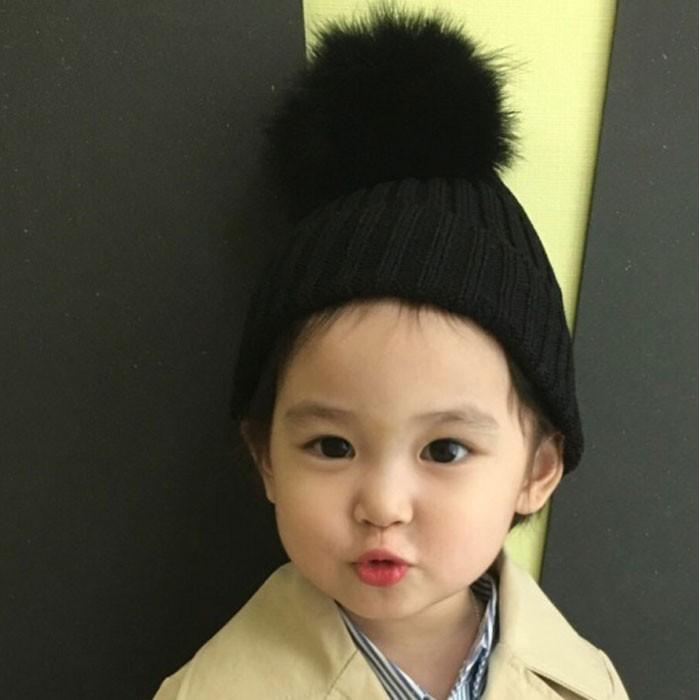 ~Dear Deer ~韓國2016 秋大毛球毛帽4 色男女童