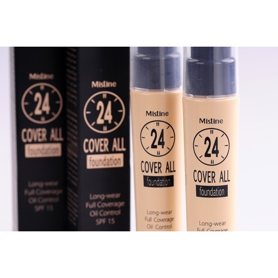 泰國Mistine 24 小時不脫妝粉底液隔離防曬遮瑕持久服貼
