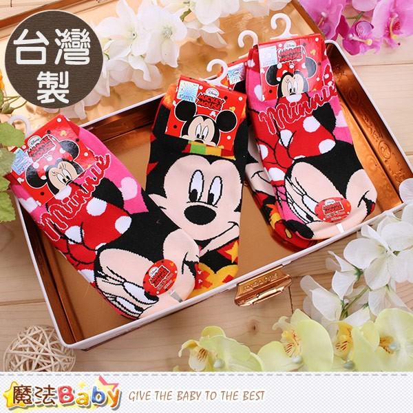 魔法Baby 女童直版襪4 雙一組 製迪士尼米奇米妮 k50187