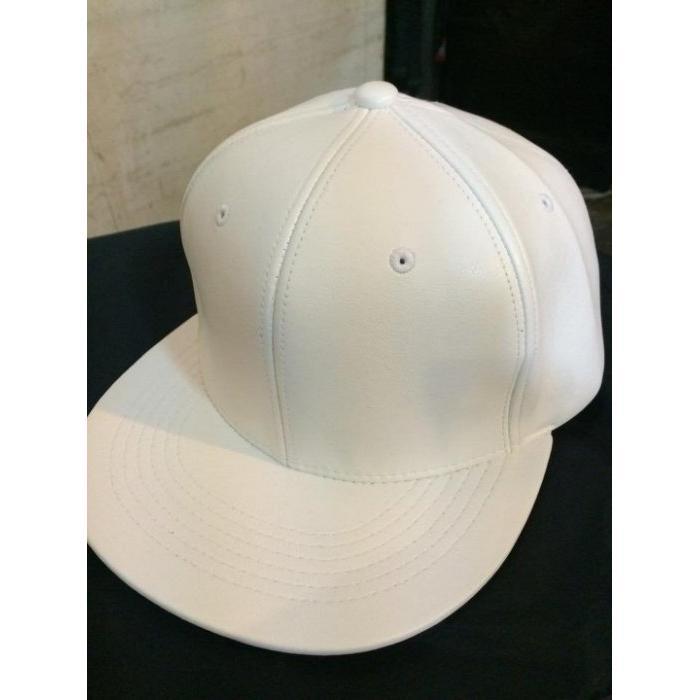 正韓亮白素面皮質棒球帽皮質版帽不是大陸貨喔正韓超挺 自行調整大小壓扣式