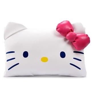 車用頸枕Hello kitty 汽車頭枕靠枕車枕頭kt 護頸枕可愛卡通