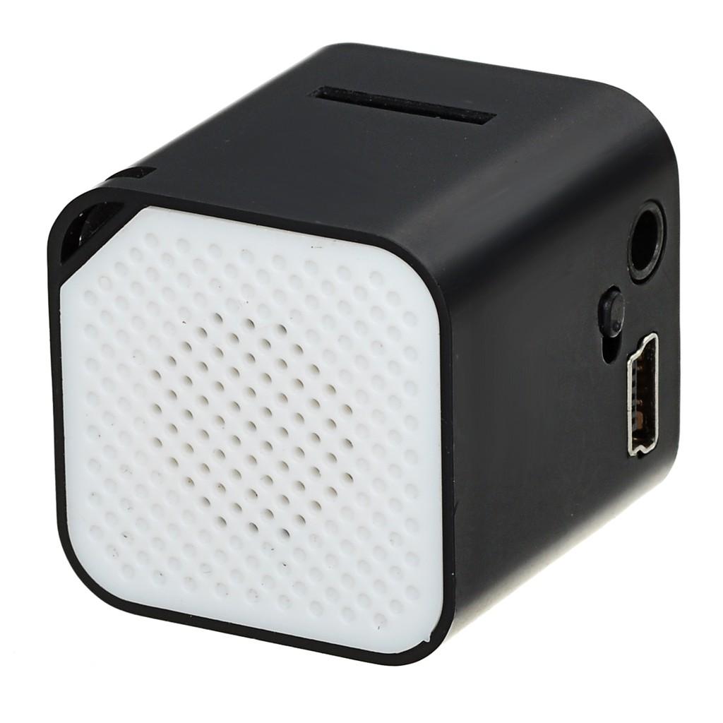 無屏小巧帶外響插卡MP3 播放機黑色白色