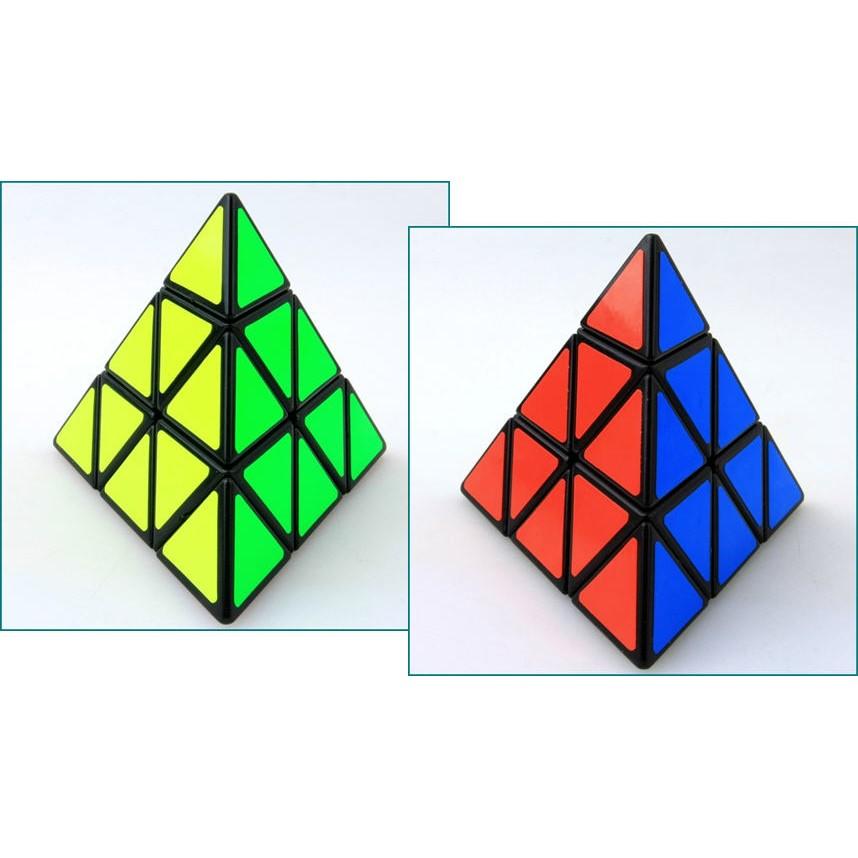 聖手三階金字塔魔方Pyraminx 正品比賽 異形三角魔術方塊兒童青少年益智學習啟發開學社