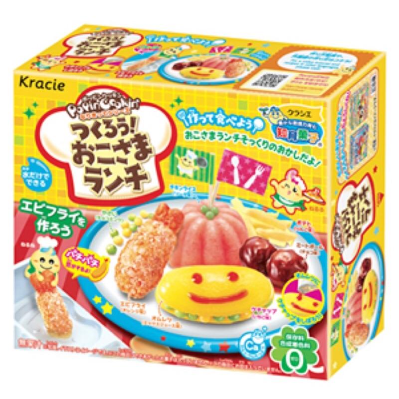 ~49 本舖~Kracie 知育果子兒童套餐小朋友午餐手作DIY 食玩