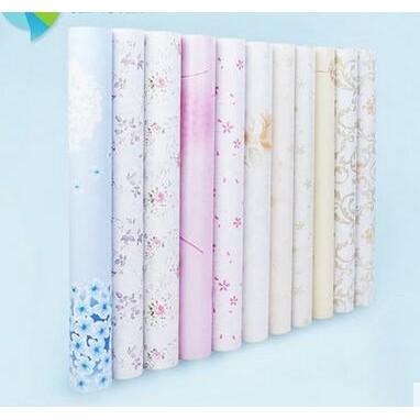 加厚PVC 壁紙自粘墻紙墻貼防水臥室客廳寢室 翻新貼紙45 1000CM ~ 科技館~
